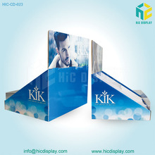 cardboard recyclable display stand small cd cardboard display