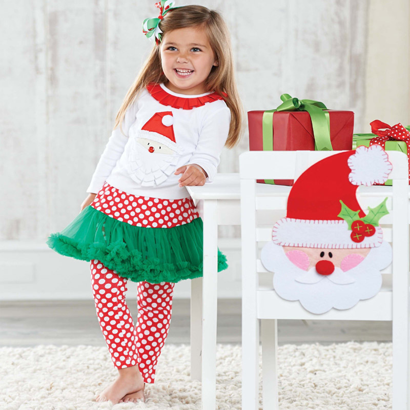 china wholesale christmas baby clothing set - Christmas Clothes For Kids