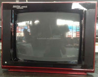 Hot sale crt tv classic model tv 21inch pure flat/normal flat loading many qty