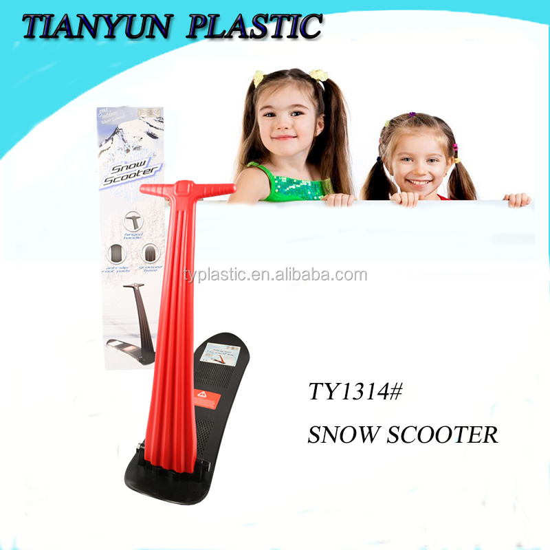 2016 new design best seller self balance kids snow scooter for outdoor play