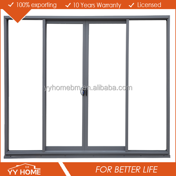 YY home China supplier Customized Metal Easy Install Exterior Sliding Doors