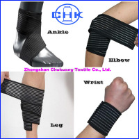 Breathable Elastic Ankle Wrist Elbow Support Brace