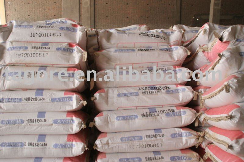 calcium aluminate cement refractory CA50(A-600/A-700) with attractive price