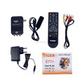 Tiger star Satellite receiver E77 Free to air chann