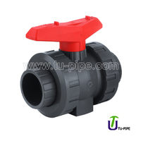 UPVC True union valves ANSI SCH 80 (SXS)/SCH 80 valve