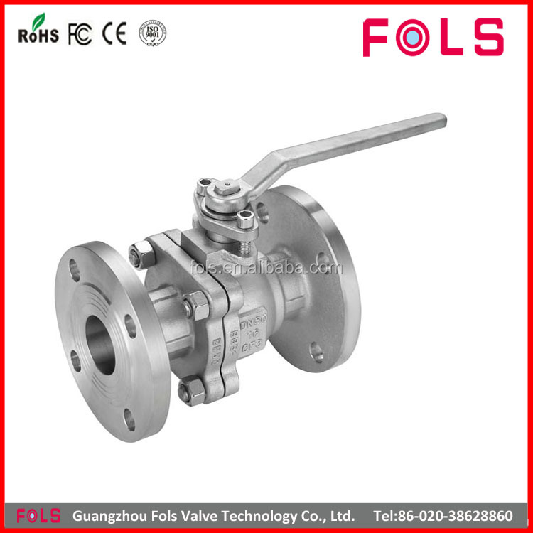 wholesale flanged hand operated pn16 ball valve stainless steel