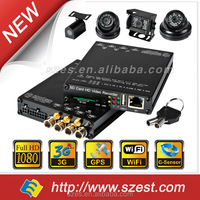 Mobile Bus/VehicleVideo DVR & School Bus 1080P mini sd card Mobile and 1080P digital Camera Surveillance Systems
