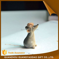 Eco-Friendly polyresin hanging ornament animal resin craft garden decoration