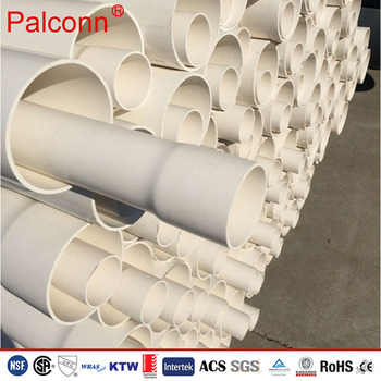 20-630mm Specification and 1.7mm-36.8mm Thickness PVC Plastic Pipe