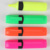 customized different colorful shape seal candy color fluorescent pen