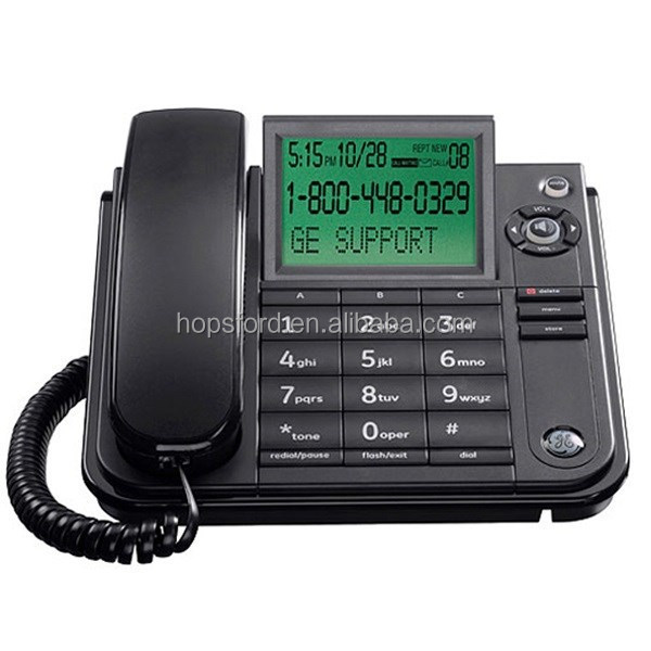 **SPECIAL OFFER** GE29585 - Extra Large LCD Display, call waiting & caller ID Hearing aid compatible Corded Phone
