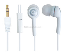 2015 new product white color cheap headphone earbuds earphones for mobile phones