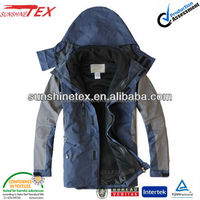 Men's 3 in 1 warm waterproof outdoor jacket for winter