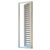 Aluminium frame glass louvre windows with adjustable aluminium louvre blade