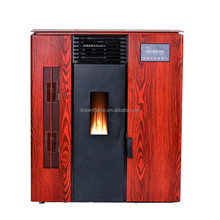 Cheap Pellet Stove Steel Indoor Fashion Style Cheap Pellet Burning Fireplace