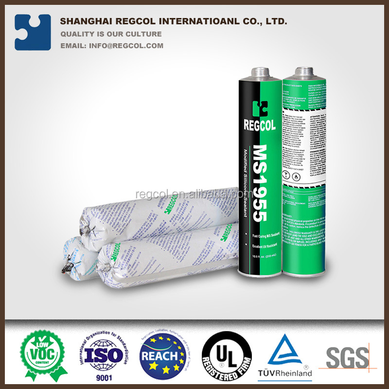 310ml aluminium MS high performance modified silicone sealant
