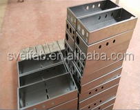 custom electric outdoor stainless steel enclosure