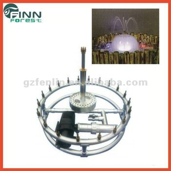 Diametre 1m stainless steel indoor fountain decoration