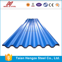 China long span stone color coated galvanized zinc gi plain roofing sheet price per ton