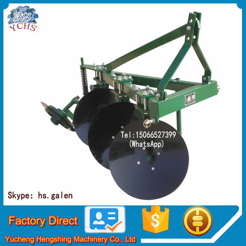 Factory supply 1LYQ-320 farm disc mini plough tractor implement