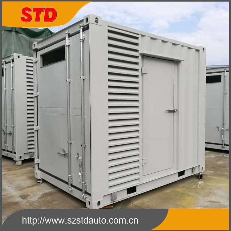 Shenzhen customized 10 feet special electrical unit shipping container