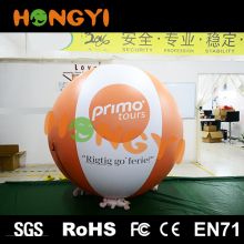 Latest Inflatable Helium Balloon Outdoor Toy Ball Advertising Zipper Balloon Made in China