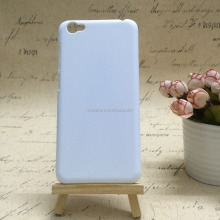 cheap price plastic mobile phone case DIY design heat print cover 3D sublimation phone case for vivo y55
