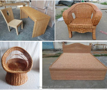 Outdoor Indoor Wicker Furniture Sofa Chair Desk Bed from Linyi