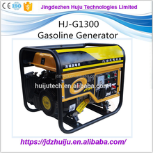New 1300w approval electric and remote start gasoline digital generator HJ-G1300