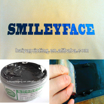 Waterbased Polymer Emulsion Anti-sublimation Rubber Ink for Transfer Printing