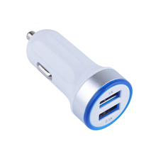 Dual USB car charger 2V 2.1A fast charger 2 USB car charger hot selling new products