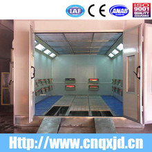 CE Approved QX1000 infrared heat auto painting drying booth for car body care