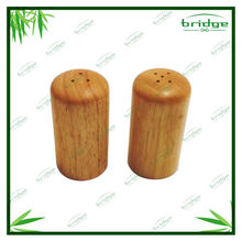 Double bamboo pepper grinder