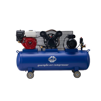 Top supplier high quality industry air compressor with gasoline engine
