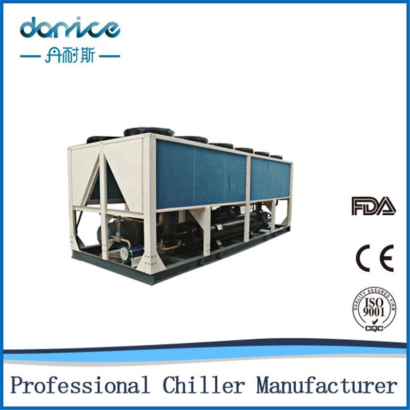 industrial chiller air conditioner China air cooled screw chiller Manufacturer Chiller with CE certification