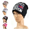 2014 NEW Fashion Unisex Men/Womens Chic Slouchy Double Layer Ski Skull Cap Beanie Hats 18973