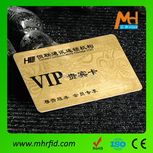CR80 custom printing gold foil embossed business cards