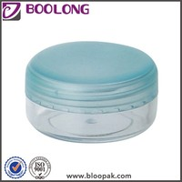 Boolong brand 3ml plastic jar screw lid