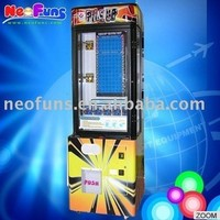 Brick Stacker prize vending game machine/Coin Operated Game Machine