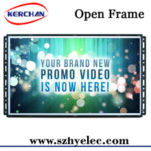 material for quick installation 15.6 inch open frame lcd advertising display for point of sale displays