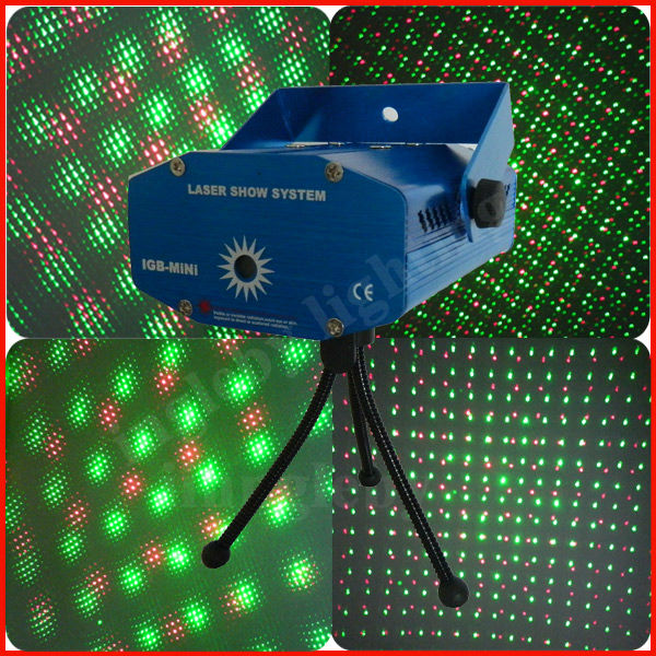 Halloween constellation mini laser stage lighting projector with stand