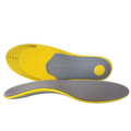 Custom EVA insoles with arch support