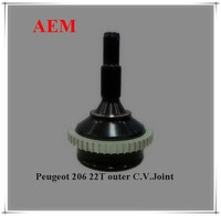 HIGH QUALITY ABS PEUGEOT 206 OUTER CV JOINT 22T
