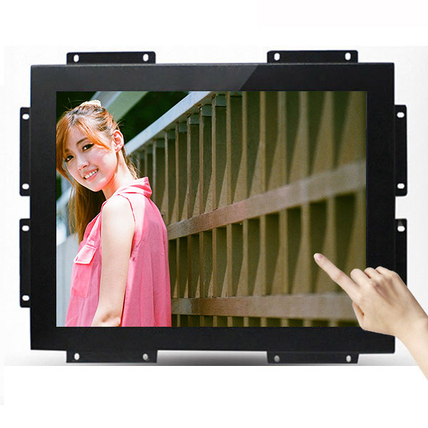 Unique Design Best Quality <strong>12</strong>.1&quot; TFT-LCD open frame touchscreen VGA and DVI , HD-MI 1024*768