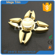 NEW products wholesale mini metal brass Finger Gyro Fidget toy spinner