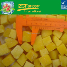 IQF Delicious Frozen fruit mango pulp importers in good quality in bulk