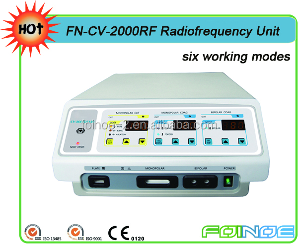 Radio Frequency electrocautery instrument with FDA