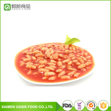 2017 new crop Chinese canned white kidney beans in tomato sauce