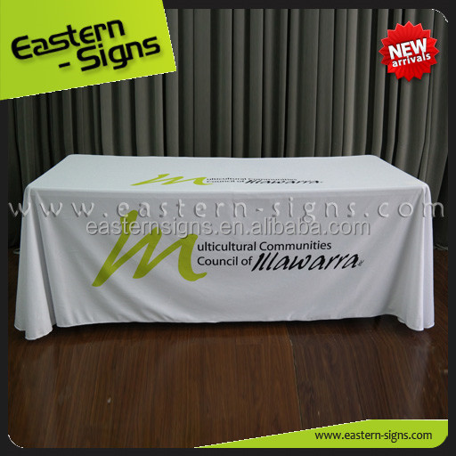 Wholesale Cost Price Set Up Standrad Fabric Easy Anti-Slip Table Cloth
