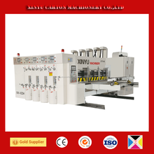 4 colour flexo printer corrugated cartons printing machine